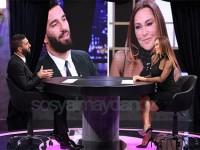 Hülya Avşar'ın programına konuk olan Arda Turan
